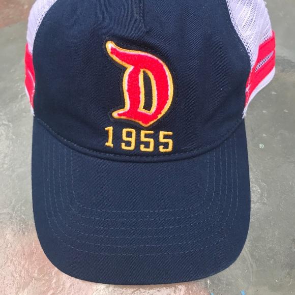 8268654c4de6d Disney Accessories - Disney Parks Disneyland Resort Big D 1955 Mesh Hat